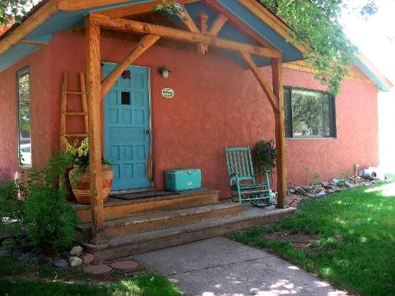 colour for houses margaret a buisos southwestern style home features a turquoise