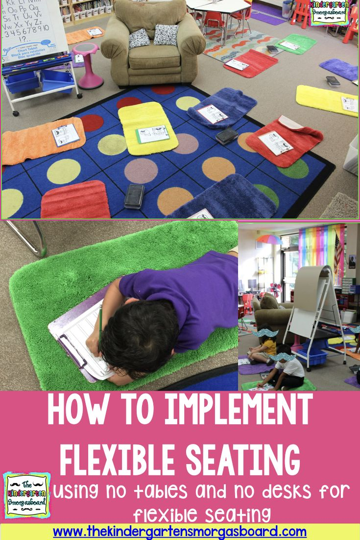 Ideas, tips, and tricks for implementing flexible seating in your classroom!