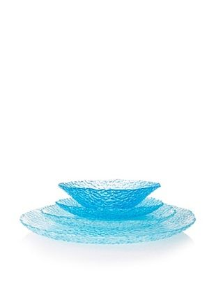 Artland Dapple 4-Piece Place Setting, Turquoise