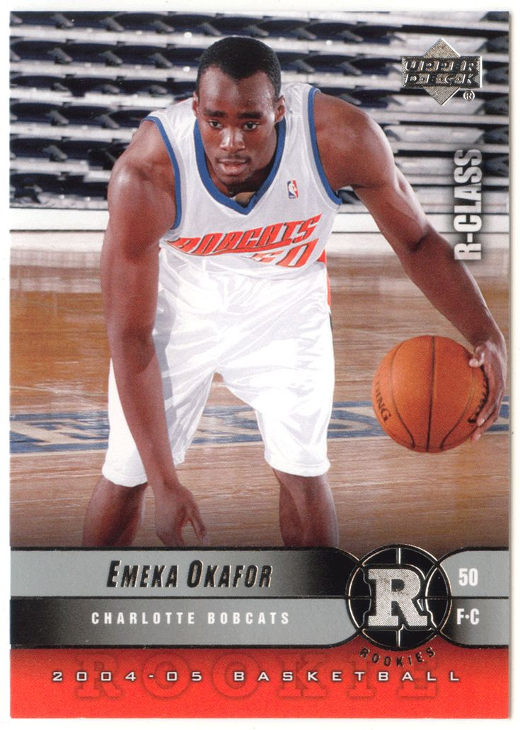 Emeka Okafor RC # 92 - 2004-05 Upper Deck R-Class Basketball NBA Rookie