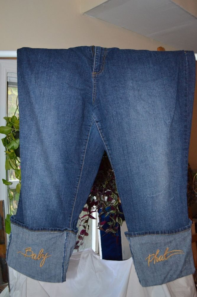 c6b42112 Plus size womens vintage baby phat capri pants size 3x #fashion #clothing # shoes #accessories #womensclothing #jeans (ebay link)