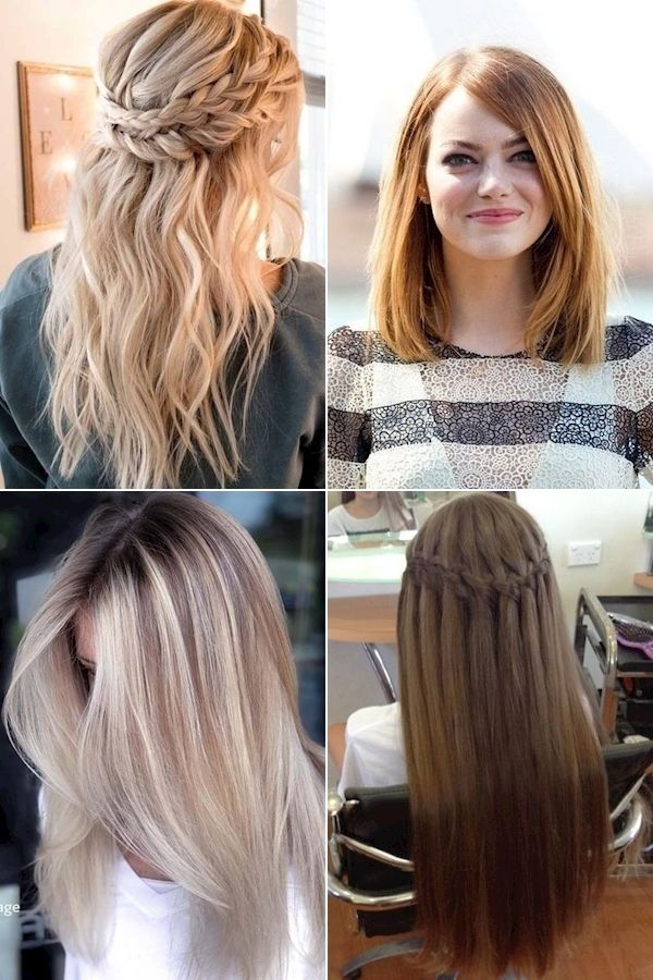 To Straighten Hair Naturally Some Hairstyles For Straight Hair Simple Haircuts For Long Straight Hair In 2020 Straight Hairstyles Hair Styles Natural Hair Styles