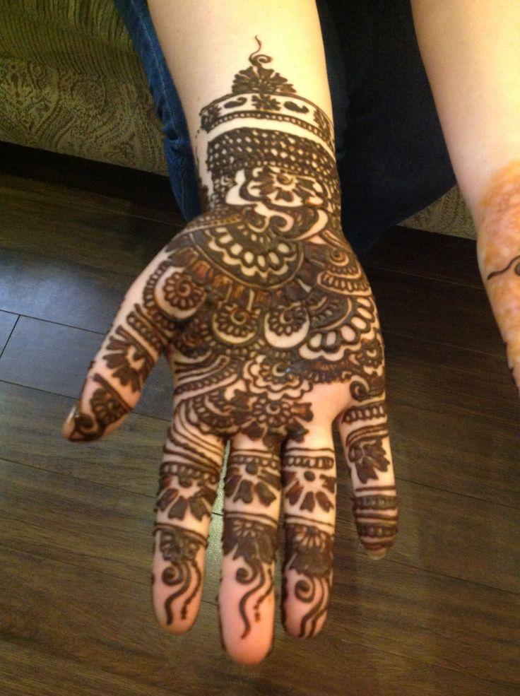 Unique Arabian Henna Designs