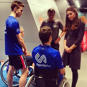 The Duchess of Cambridge meets young athletes who hope to compete for Team GB at the 2020 Olympic Games in Tokyo. These athletes are being supported by Sports Aid - a charity of which HRH is Patron