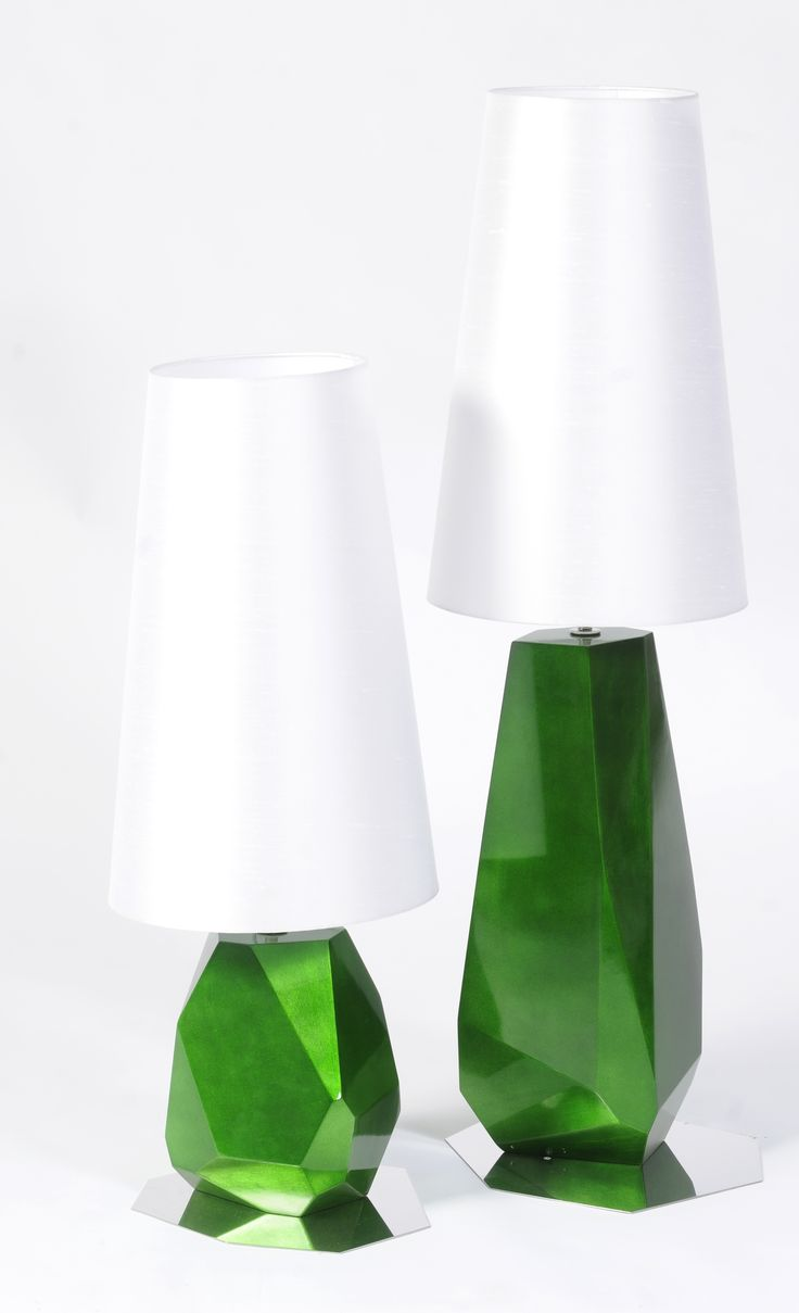 Emerald green table lamp - 2017 Trend From Pantone Color Of The Year Green Lampgreen Table