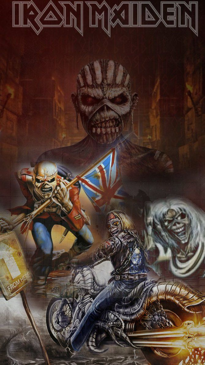 2633 Best Iron Maiden Images On Pinterest Heavy Metal