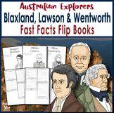 Australian Explorers - Blaxland, Lawson and Wentworth - Fa