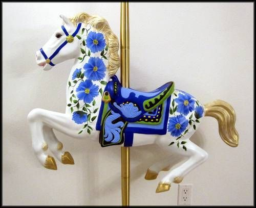 My second Carousel Horse - HOME SWEET HOME