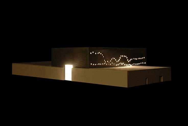 Centrale di trigenerazione Sesto San Giovanni, Milano F.Collotti con M.Boasso. L.Ariani, S.Acciai, R.Bandoli, N.Campanini, C.Steiner, N.Terzani Baccani Milano, 2009-2013 | Ricerca su modelli architettonici innovativi per impianti di cogenerazione.