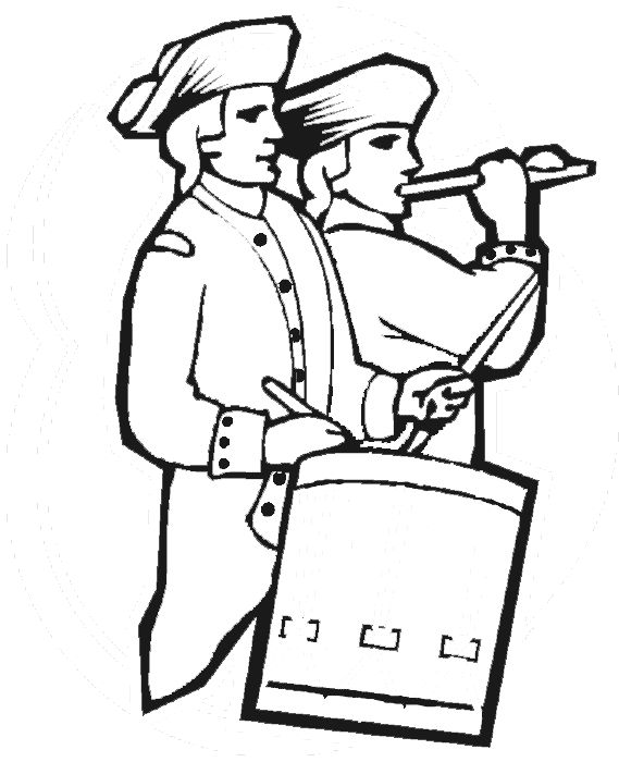 american revolution and coloring pages - photo#20