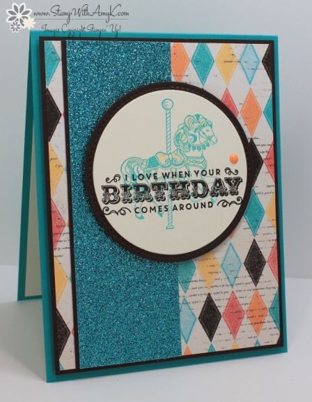 Stampin' Up! Carousel Birthday – Stamp With Amy K