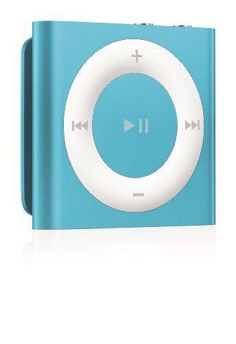 Apple iPod shuffle 2GB Blue (4th Generation) NEWEST MODEL iPod shuffle 2GB Blue MP3 Player - 5th G.  #Apple #NetworkMediaPlayer