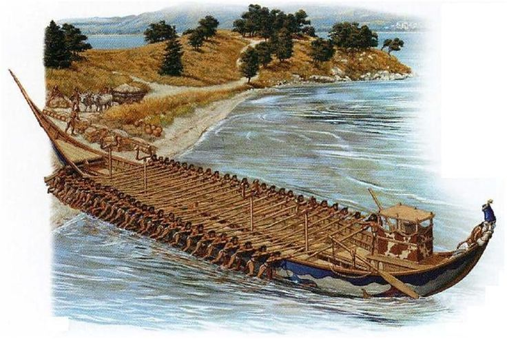 The Ships of the Sea Peoples – Part 2...a confederacy of seafaring raiders of the 2nd  BC.