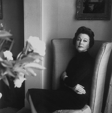 Vivien Leigh in 1958. Her dearest friends anguished over the heartrending letters of apology they'd get from her after she'd recovered from a manic episode.