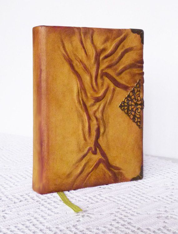 Writing Journal Leather Diary Travel Notebook Tree of Life