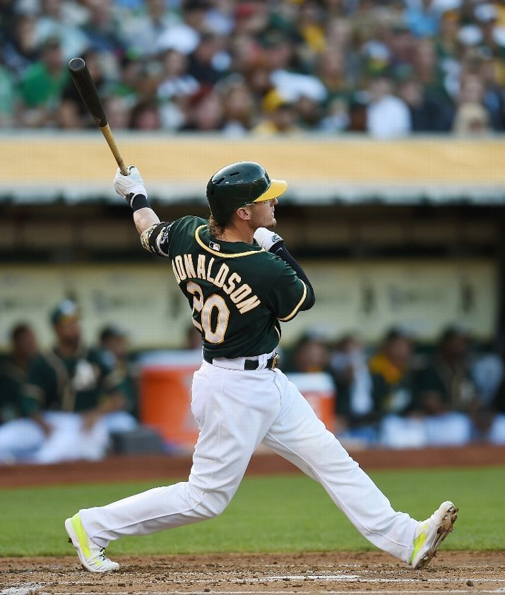 Even though the Oakland Athletics are out of the playoffs, we shouldn't forget that Josh Donaldson had an amazing season where he belted 29 home runs and drove in 98 RBI!