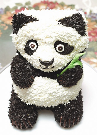 46 best images about Panda cakes on Pinterest Cute cakes, Cakes and Troy