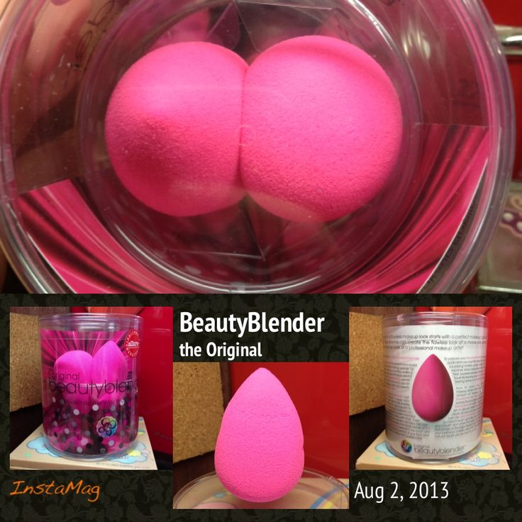 My very own The Original BeautyBlender!!! Bday Gift from Honee! :)