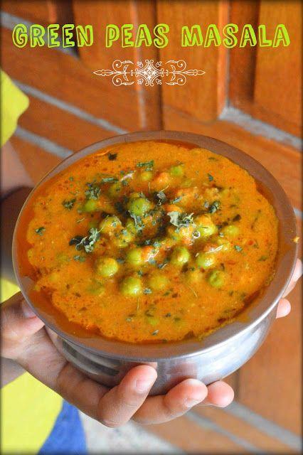 Green peas masala/Matar masala( no onion no garlic) http://www.upala.net/2016/01/green-peas-masalamatar-masala-no-onion.html