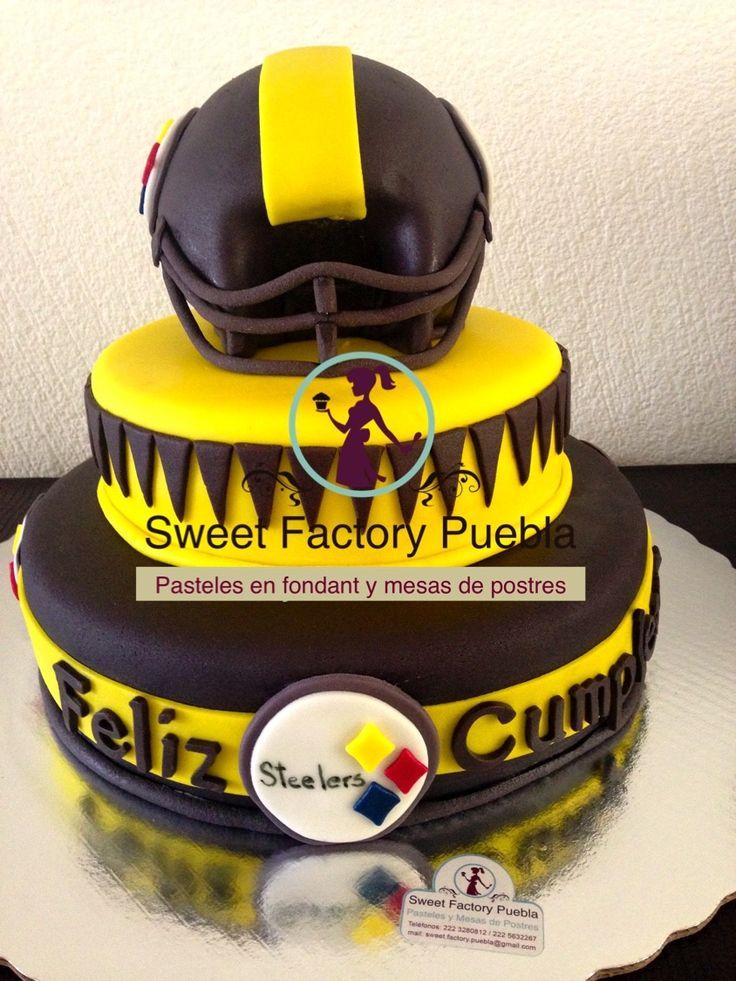 Pastel Futbol americano Sweet factory Puebla Chef Luciana Proietti www.sweetfactorypuebla.com Tel: 2223 28 08 12