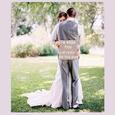 #amor #frases #boda #novios