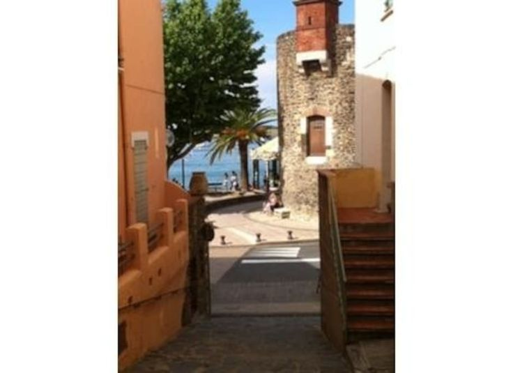 House in Collioure, France. Our house is located in a great area, in a small quiet street of the old village, close to everything and a bit away from the busy touristics areas.  Collioure is a wonderful little village.  There is a bus stop accross the street for the 1euro bu...