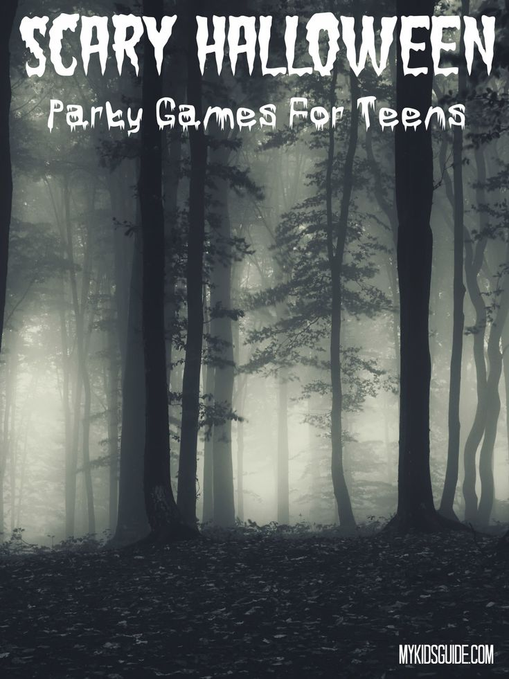 Scary Halloween Party Games For Teens                                                                                                                                                     More