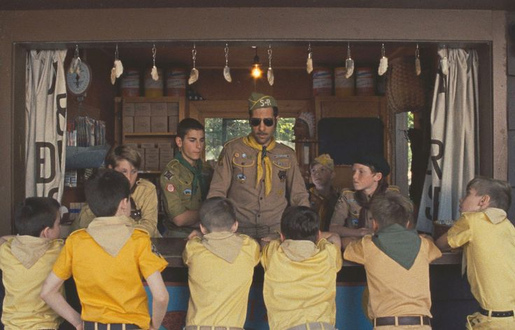 Check out official photos from Wes Anderson's acclaimed new film Moonrise Kingdom. Now playing in select theatres.