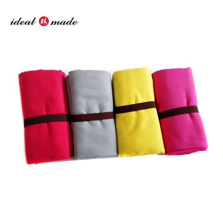 2016 New products China Manufacturer comfortable Extra large microfiber towel mixed colors supported