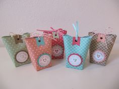 Stampin`Up! Mini Box in a Bag, InColors 2013-2015, Verpackungen