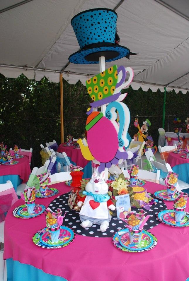 Wonderland Party Props Wu0027s Birthday Mad