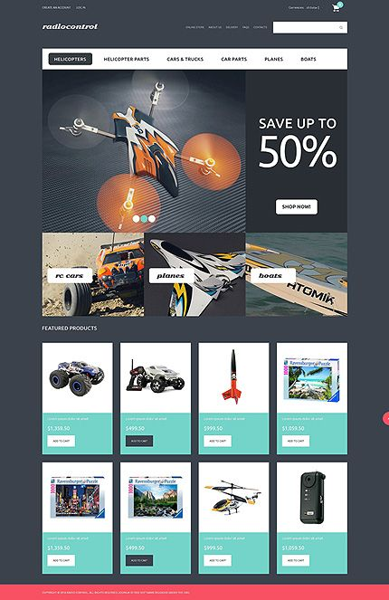 VirtueMart Theme #50696