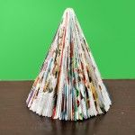 Vychytaná vánoční dekorace z přebytečných časopisů | Domácí nápady