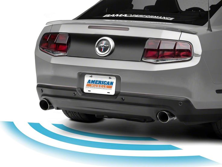 Raxiom Rear Parking Sensors Unpainted 05 14 All Tail Light Mustang Unique Cars