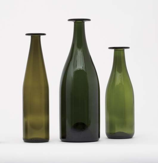 Three Green Bottles by Jasper Morrison