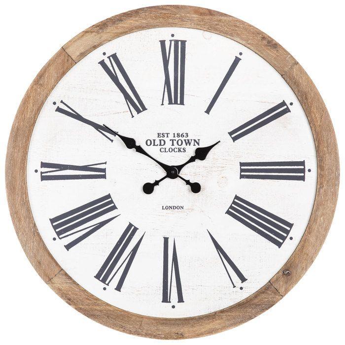 Old Town Wood Wall Clock Hobby Lobby 1659010 Diy Clock Wall Wall Clock Wood Wall Clock