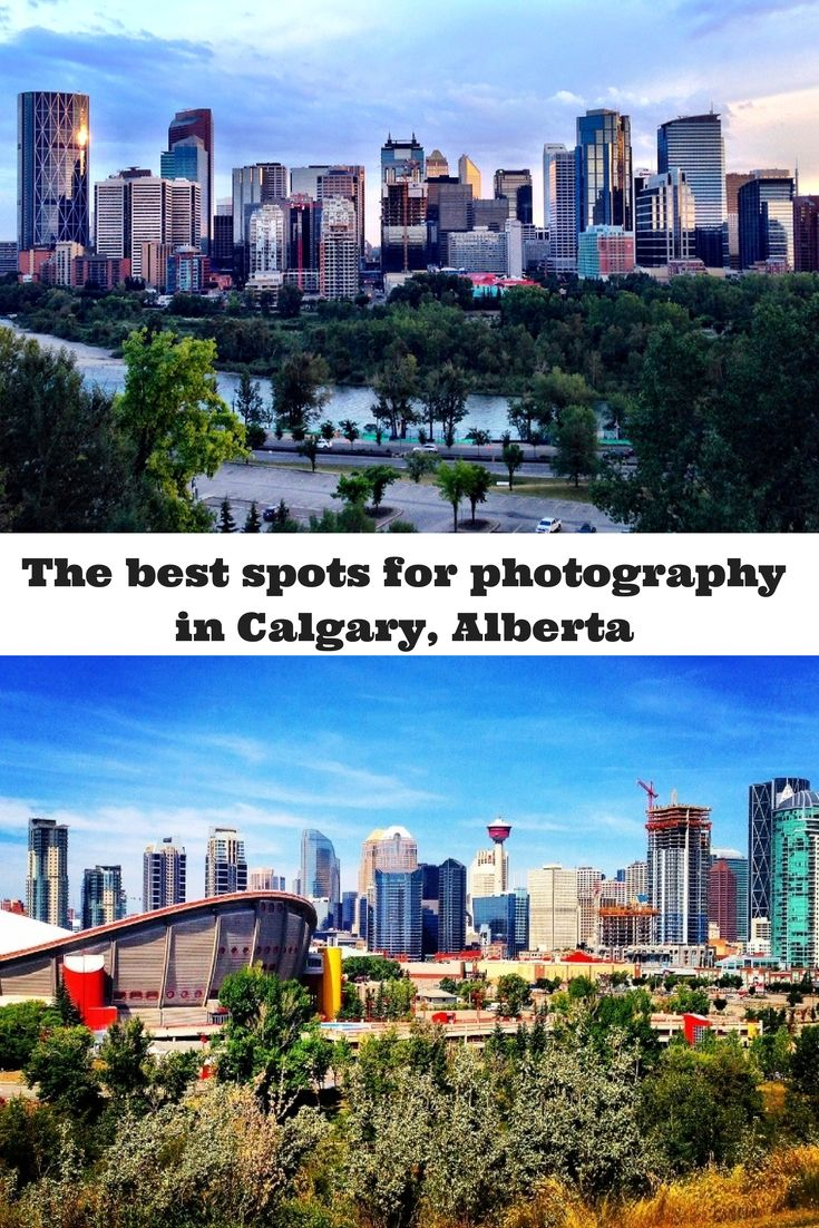 The best spots to take photos in Calgary. #travel #photography