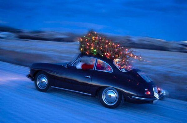 .: Vintage Christmas, Christmas Gifts Ideas, Xmas, Cars, Happy Holidays, Christmas Trees, Porsche 356, Merry Christmas, Hot Wheels