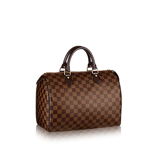 Speedy 30 Damier Ebene Canvas - Handbags | LOUIS VUITTON