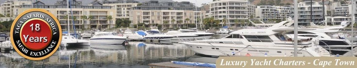 Charter a Luxury Yacht in Cape Town's V Waterfront