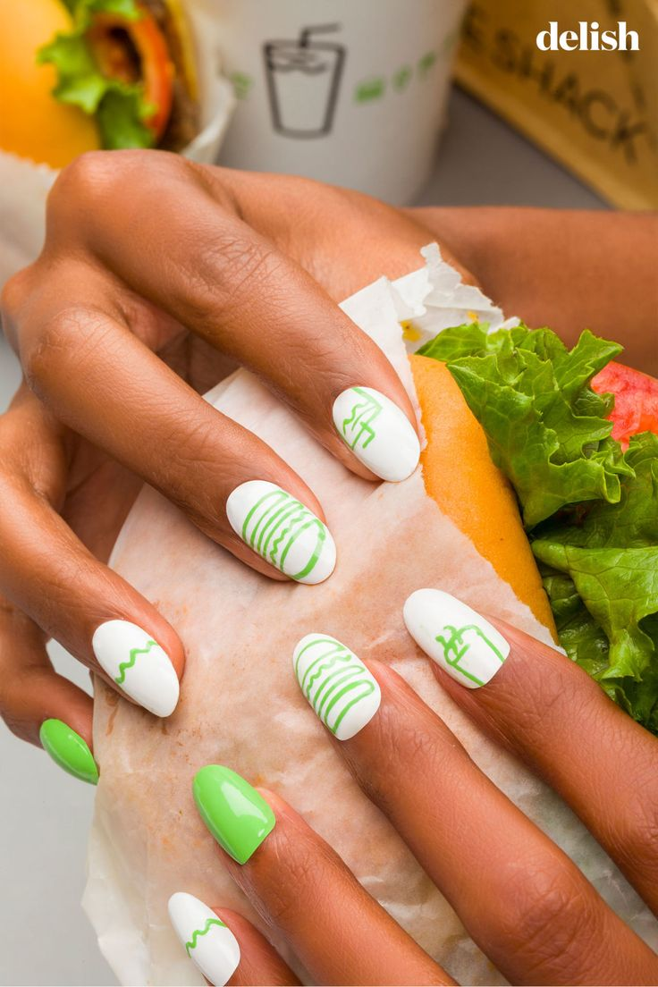 6 Nail Art Designs That Make Fast Food Look Chic