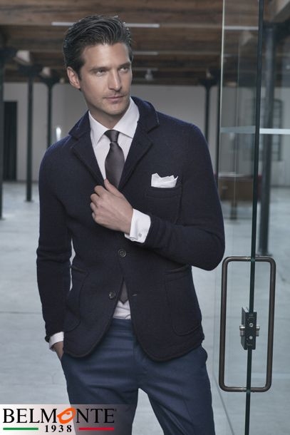 there ARE men with great style who know how to dress for success without looking like a Men's Warehouse ad
