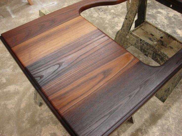 Scott cassin 39 s custom countertops wood torrified ash love it designs that i love - Unique countertops ...