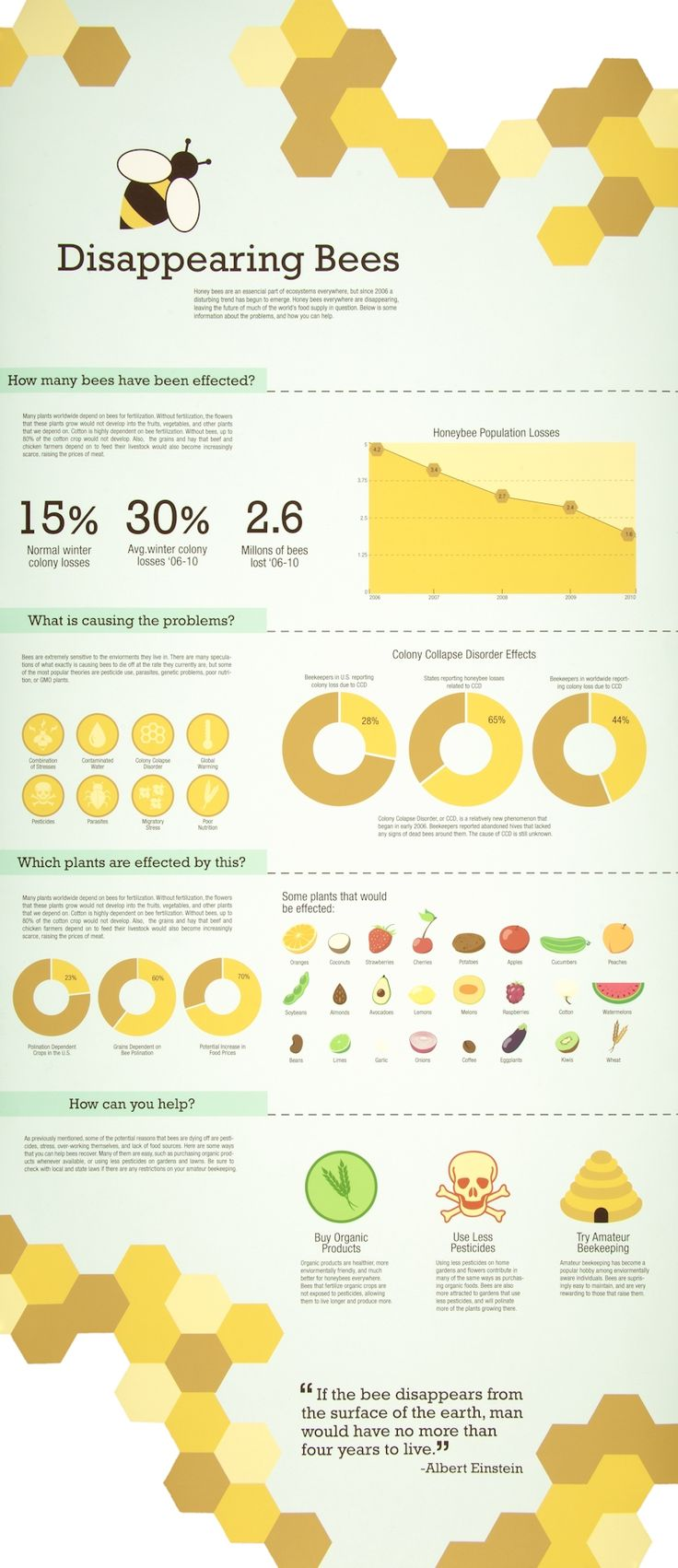 This information graphic is really good, the shades of yellow work well and are relevant to the poster.