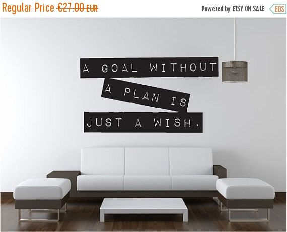 20% SALE Motivational quote wall decal, inspirational saying affirmation sticker mural vinyl decor 002