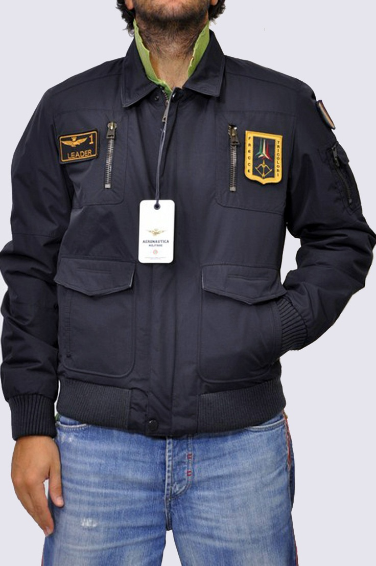 Giubbotto Uomo Blu Notte Aeronautica Militare Clothing