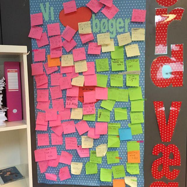 Rikkes-Classroom: Læs -Styr på titler og antal læst sider