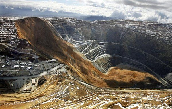 Derrumbe en una mina de Utha.