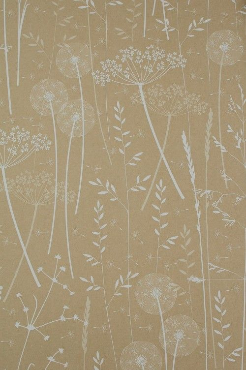 Hannah Nunn just released a branch new wallpaper collection inspired by nature. The collection contains two patterns, Paper Meadow and Beech Leaves, that each come in three colorways.