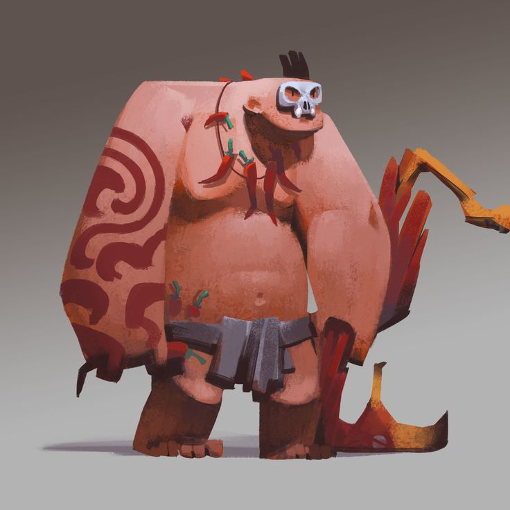 Caveman Concept Art : Team quot caveman fortress kejun wang on artstation at https